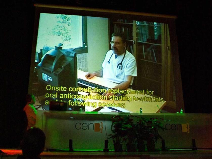 Video demostración en el Foro Europeo de Telemedicina, Barbastro