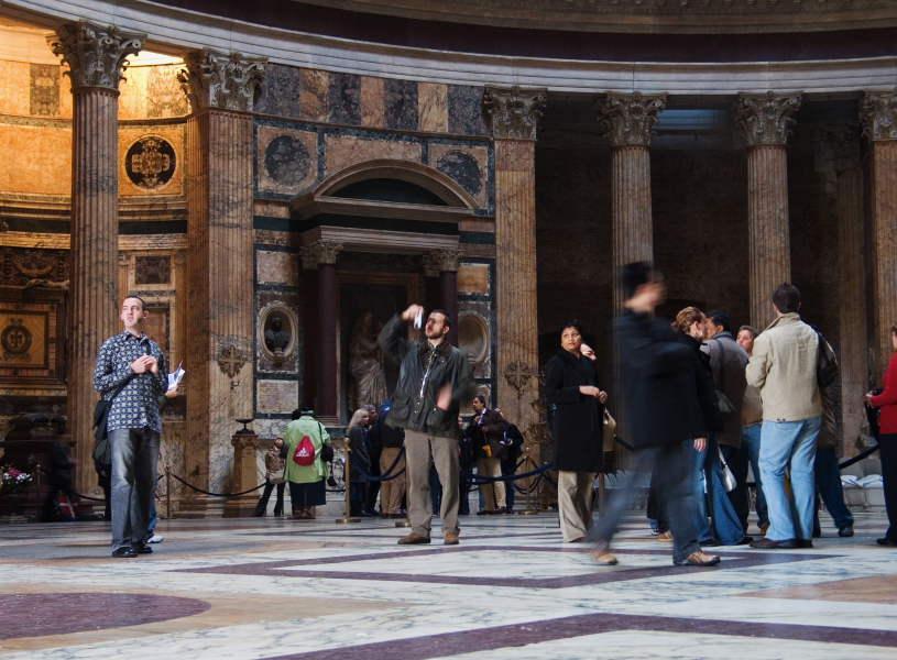 Roma - Panteón, Canon Powershot G6