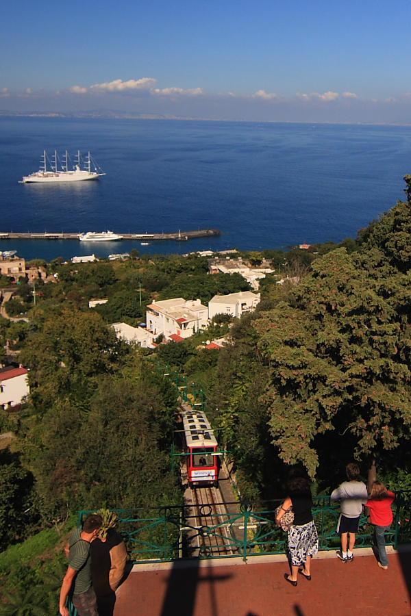 Funicular de Marina Grande a Capri