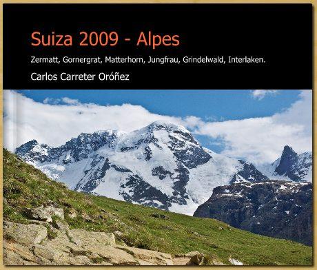 Álbum de Suiza 2009 - Alpes en Blurb