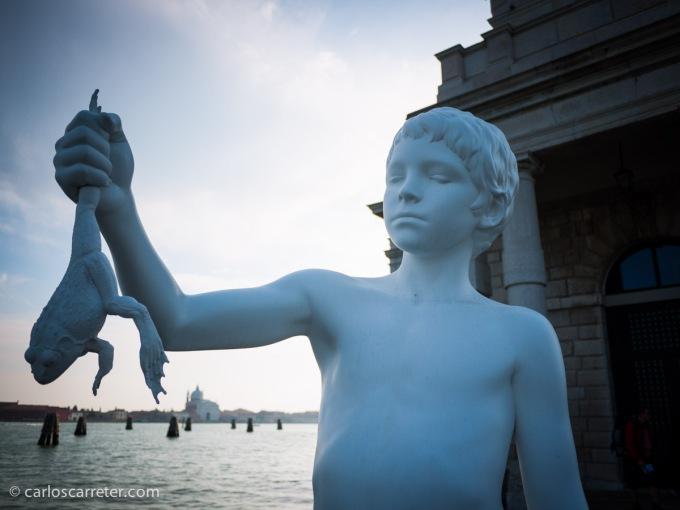 """Aunque sin duda, y aunque ya estuviese en terreno conocido, el día fuerte de esa escapada fuera un día de paseo en buena compañía entre los canales y las """"calli"""" de Venecia."""