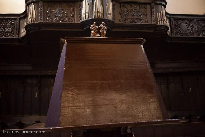 """En la iglesia de San Pablo, durante el """"photowalk"""" del 13 de octubre."""
