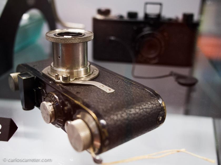 2012 - Primitivas cámaras Leica en el museo del aparato fotográfico de Vevey (Suiza)