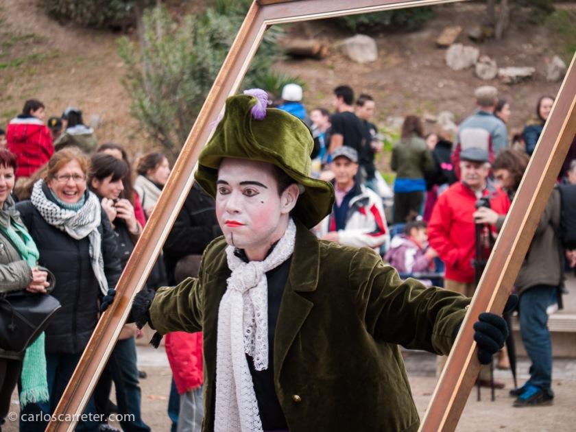 Y este, un cuadro de Goya. O un amigo del sombrerero loco. Ya digo, que personalmente me sentí un poco confuso.
