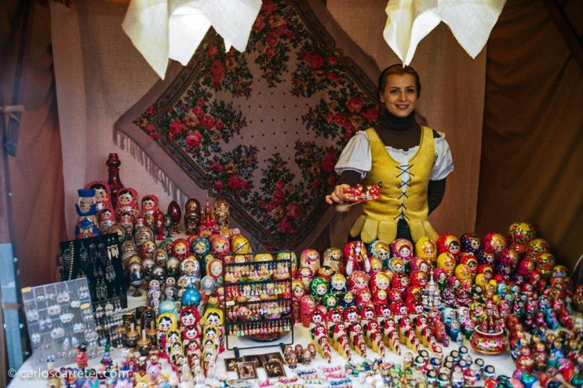 A pesar de la simpatía despejada, las artesanías no parecían atraer tantos clientes.