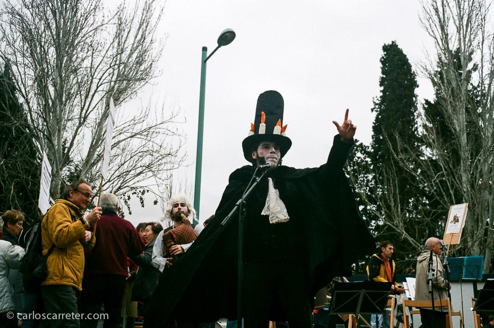 Este Goya, o Sombrerero Loco, ya había aparecido por aquí estos días atrás.