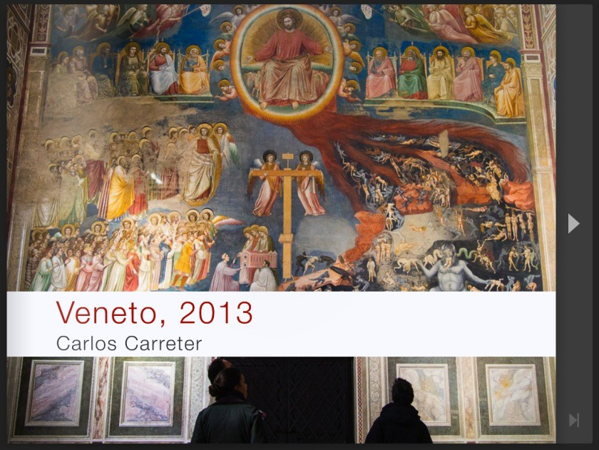 Libro de viajes - Veneto, 2013.