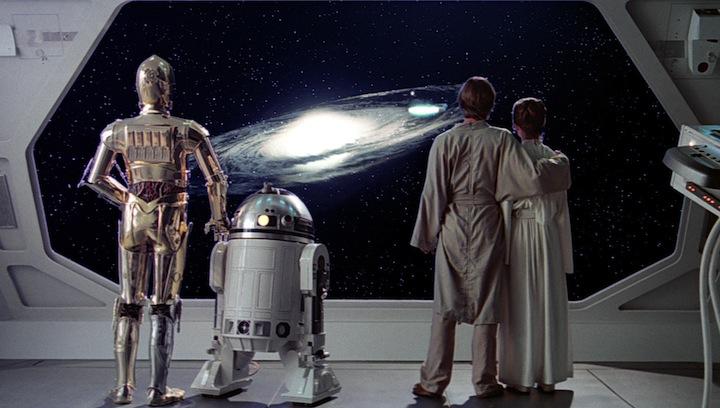 Emblemático plano final de The Empire Strikes Back.