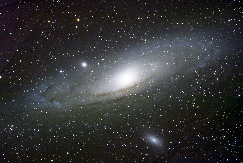 Messier 31, Andromeda Spiral Galaxy Date2006. Source	Boris Štromar Author	Boris Štromar