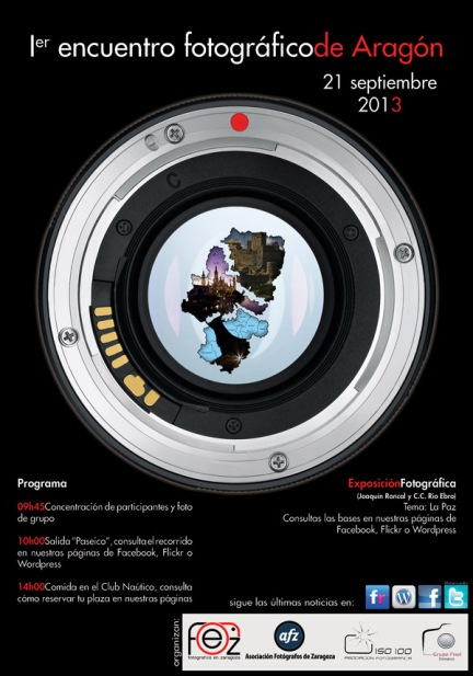 Cartel Encuentro fotogrfico