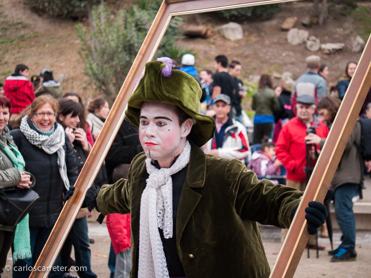 Marzo - Fiesta popular para el cinco de marzo en la arboleda de macanaz.