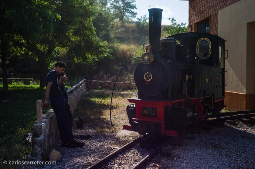 """Un par de excursiones por las Cuencas Mineras en la provincia de Teruel. Una de ellas al encendido de la """"Hulla"""" en Utrillas."""