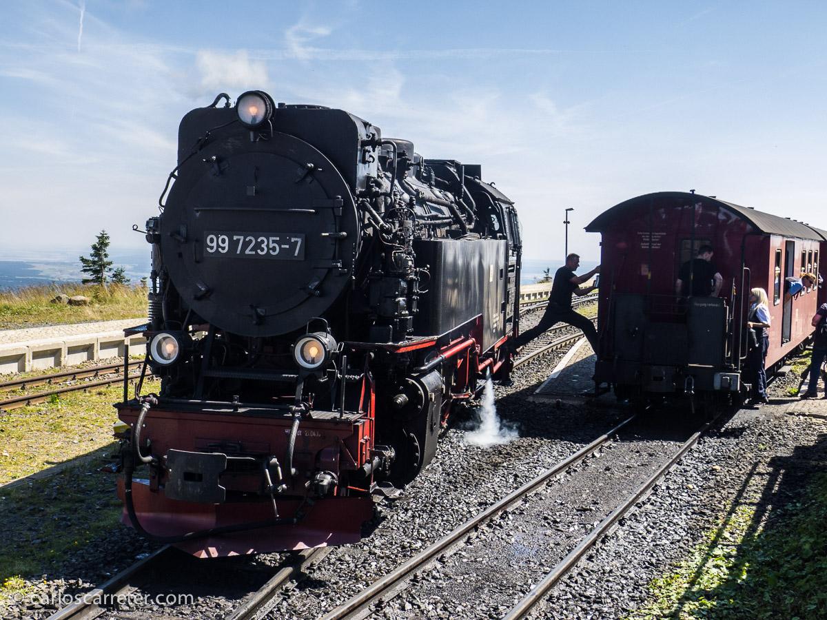 Incluyendo excursión a los ferrocarriles de vapor del Harz.