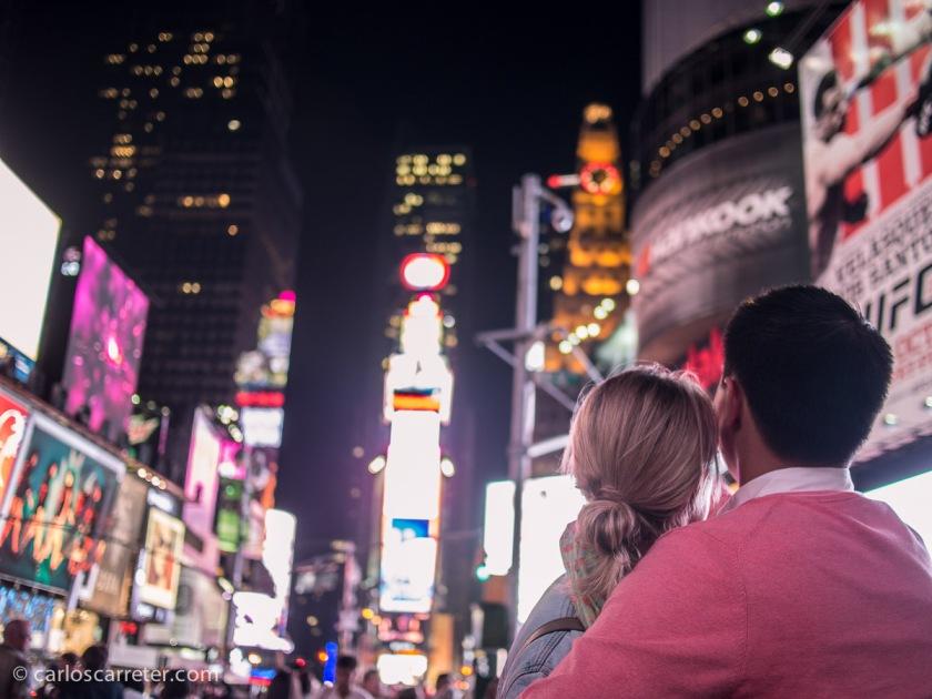 Viaje estrella a finales de septiembre a Nueva York, con parada inevitable en Times Square.