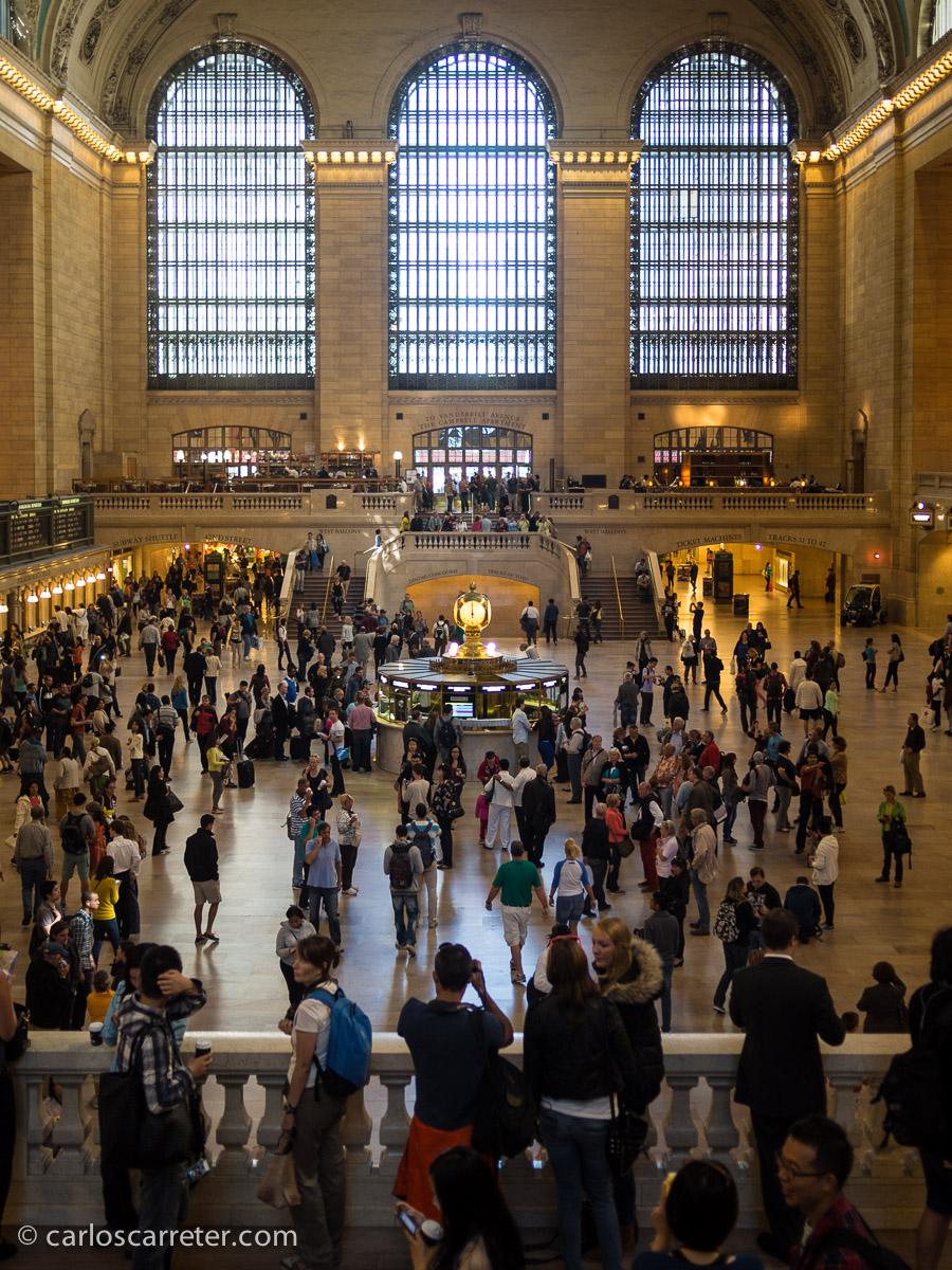 Y por supuesto, con visita a la Grand Central Terminal.