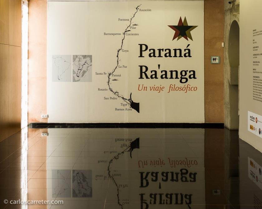 Una ruta en barco por el río Paraná, saliendo del río de la Plata y remontando hacia el Paraguay tiene que estar realmente bien.
