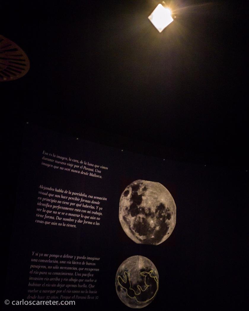 En la expedición también participaban científicos, y me gustó la referencia a que en el sur el cielo se ve diferente. Incluso la Luna, que nos parece siempre la misma.