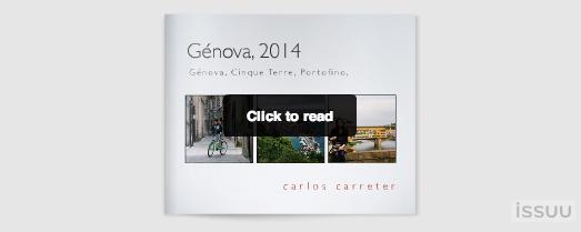 Génova 2014 en Issuu