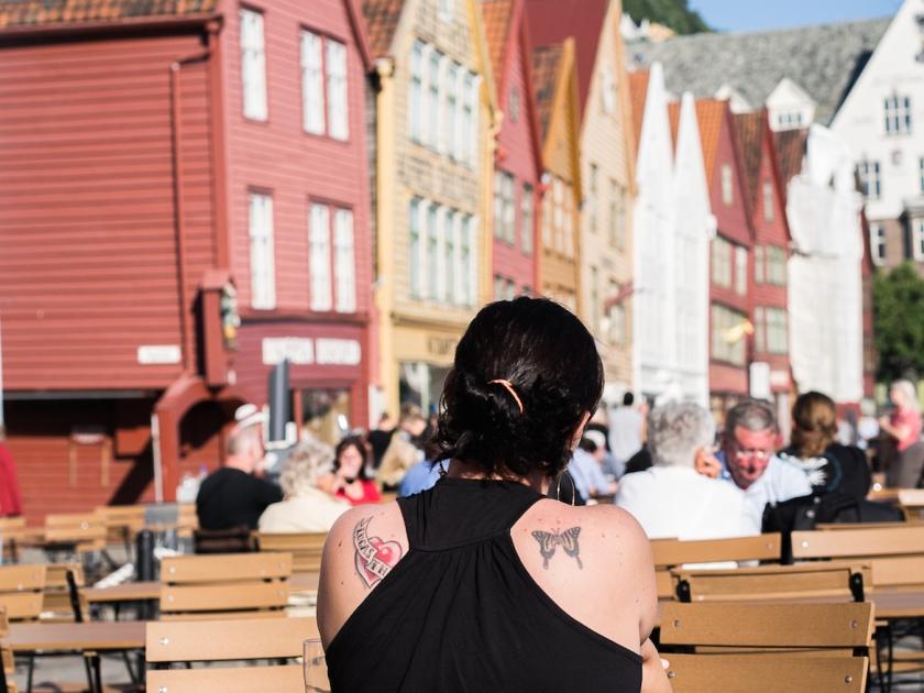 Buena parte de la película que comento hoy transcurre en la bella ciudad noruega de Bergen.