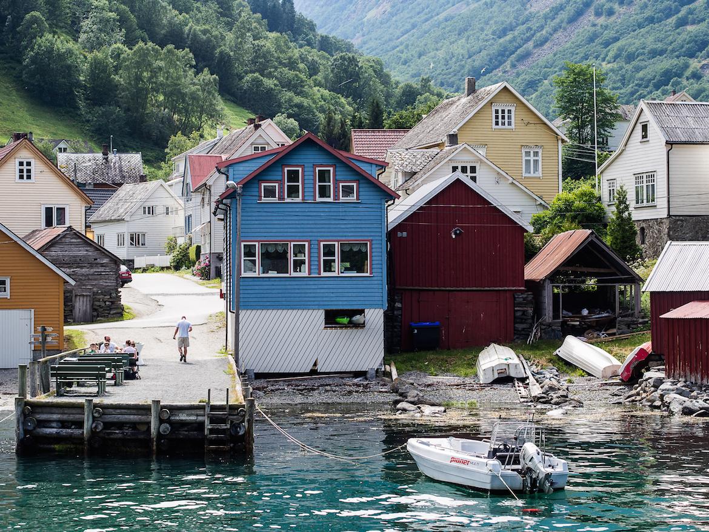 También recorremos las escarpadas costas de los alrededores de Bergen en diversas ocasiones.