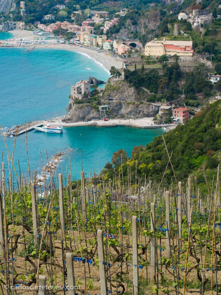 Como decía, a punto de coger vacaciones. Mis últimas vacaciones, por Italia. Visitando las Cinque Terre. Partiendo de Monterosso.