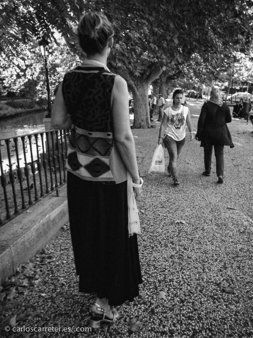 Estos días he estado pensando fotográficamente en blanco y negro un poquito.