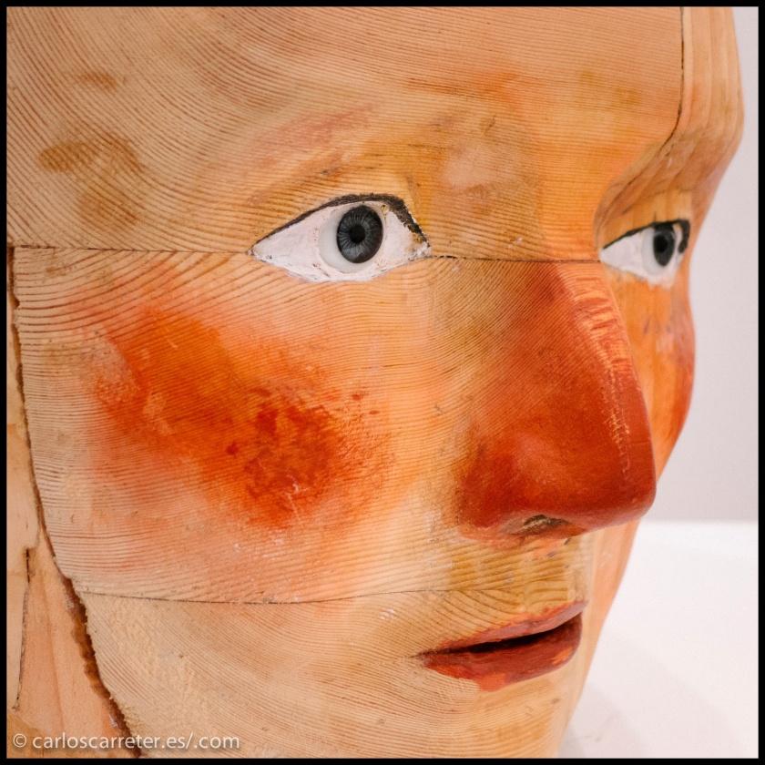 """Este fin de semana tocaron algunas exposiciones... Entre ellas las de """"La boîte: odisea de una cabeza pensante"""" de Marina Rubio en el IAACC Pablo Serrano."""