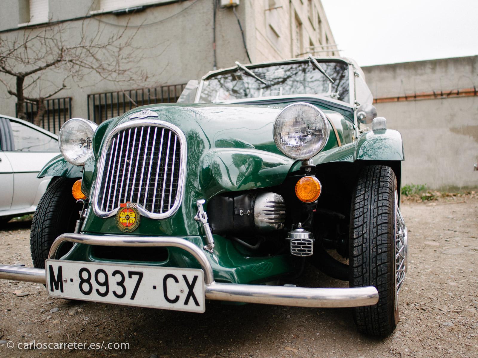 De todas formas, los que más atraían eran los coches de formas más auténticamente antiguas.