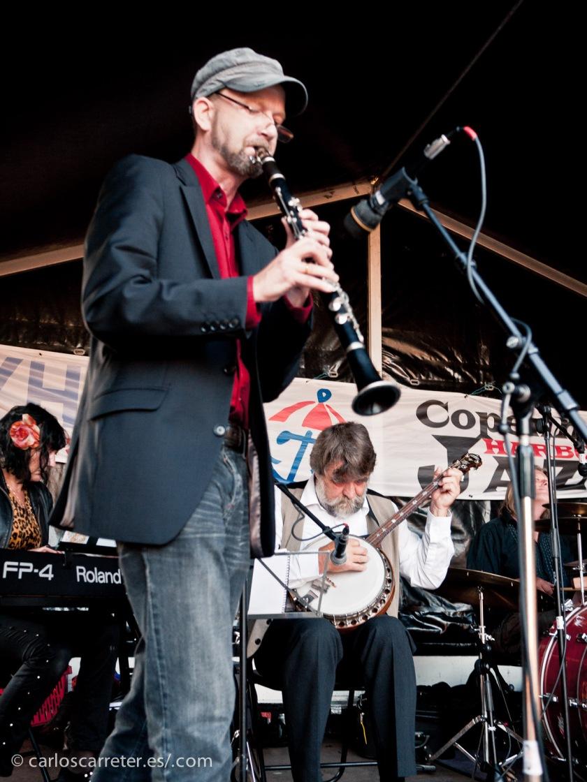 Hasta en dos ocasiones en coincidido en Copenhague con el prestigioso festival de jazz internacional de la capital danesa, en 2011 y en 2014.