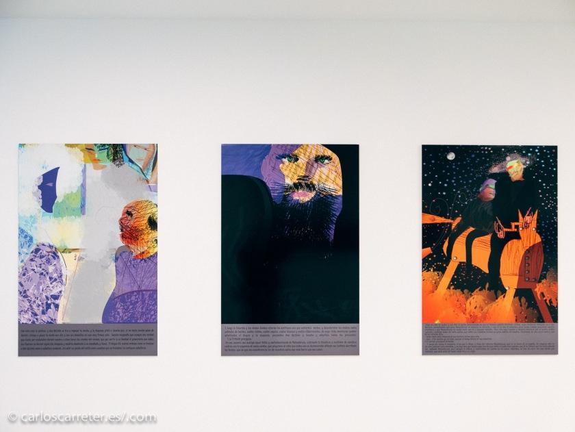 Algunas de las pinturas que sirven de base a los evoluciogramas de Baldellou.