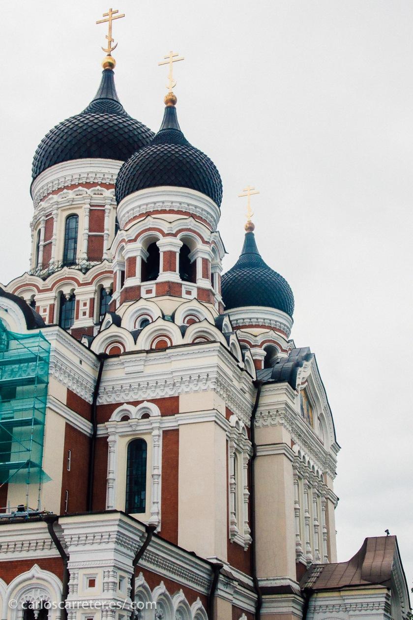 No he estado en Georgia, y menos en Abjasia. Pero si en Tallin, Estonia. Un lugar en el que también se aprecia la mezcla de identidades étnicas.