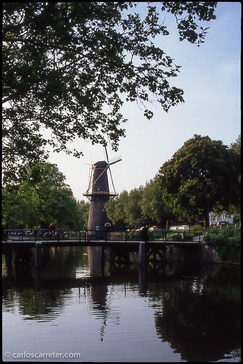 O los molinos de Schiedam en los Países Bajos. Porque viajar en el espacio es otra forma de viajar en el tiempo también. Y son las fotografías que ahora están apareciendo en mi fotoblog de viajes: De viaje con Carlos. A continuación el enlace...