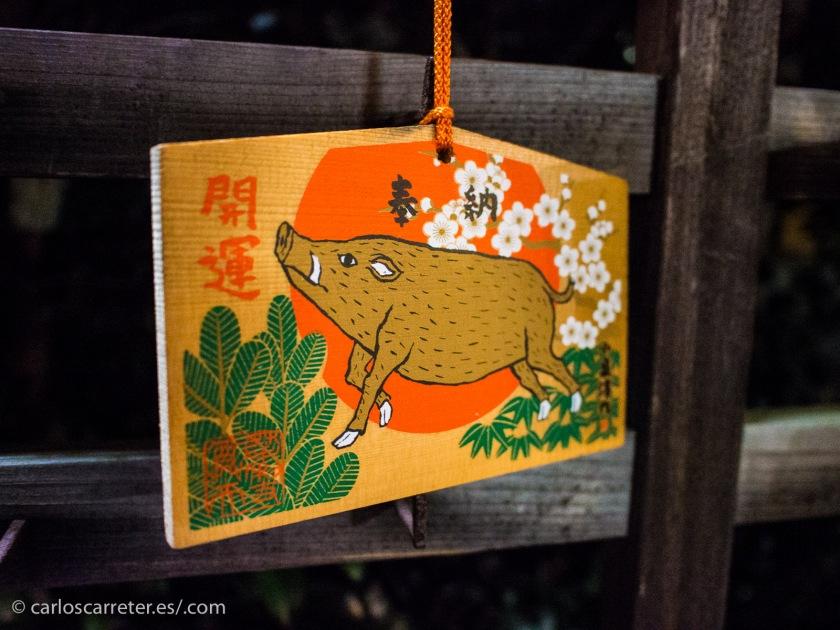 """La entrada de hoy va de una nueva película de animación americana, pero estoy aprovechando también para recordar la excelente """"El viaje de Chihito"""" por lo que nos pasearemos por los santuarios shintoistas de Kioto."""
