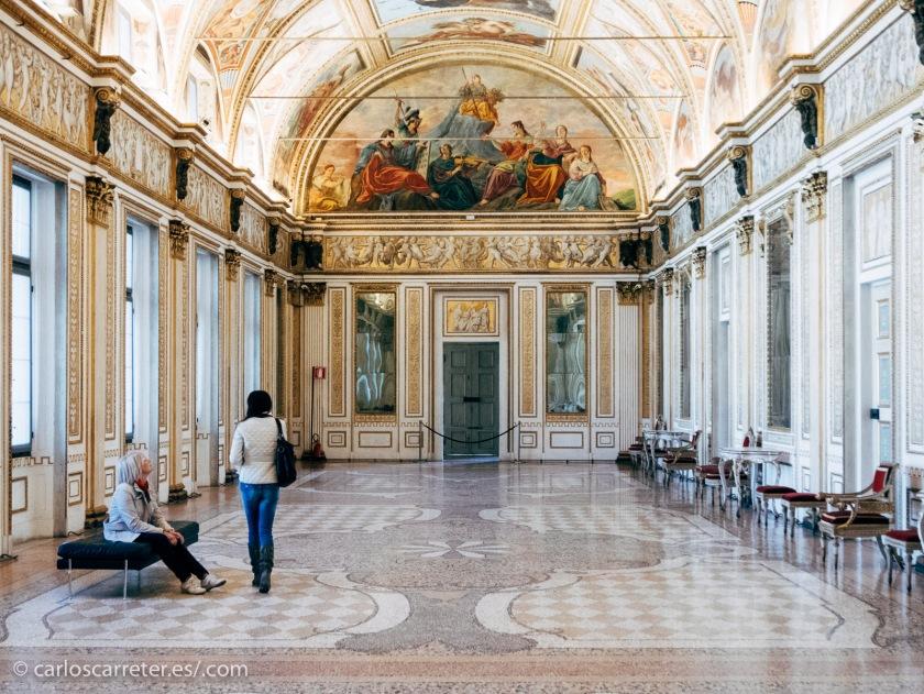 Palazzo Ducale de Mantua.