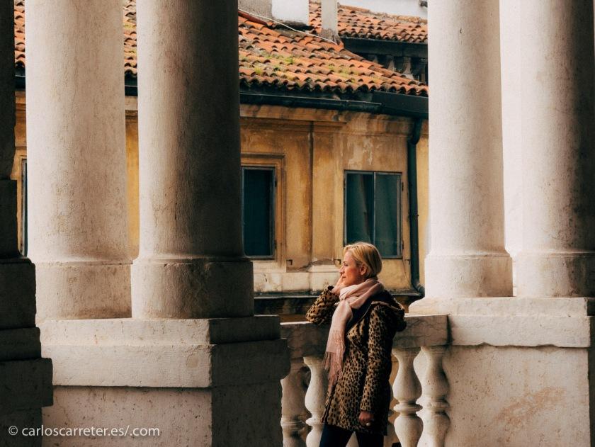 Galería de la Basílica Palladiana de Vicenza.