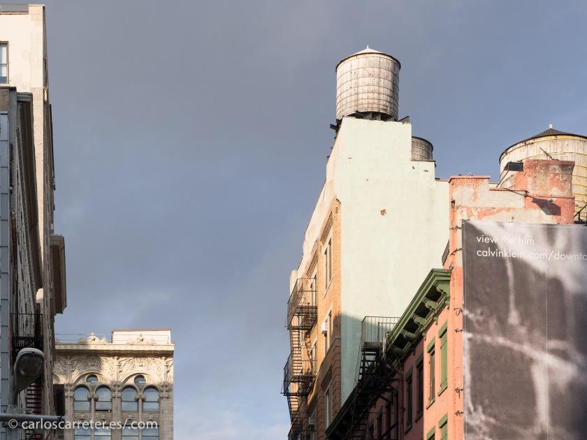 """Es curioso como hay mucha gente que habla de lo """"feos"""" que son los edificios de Nueva York, y lo fotogénico que es en su conjunto..."""