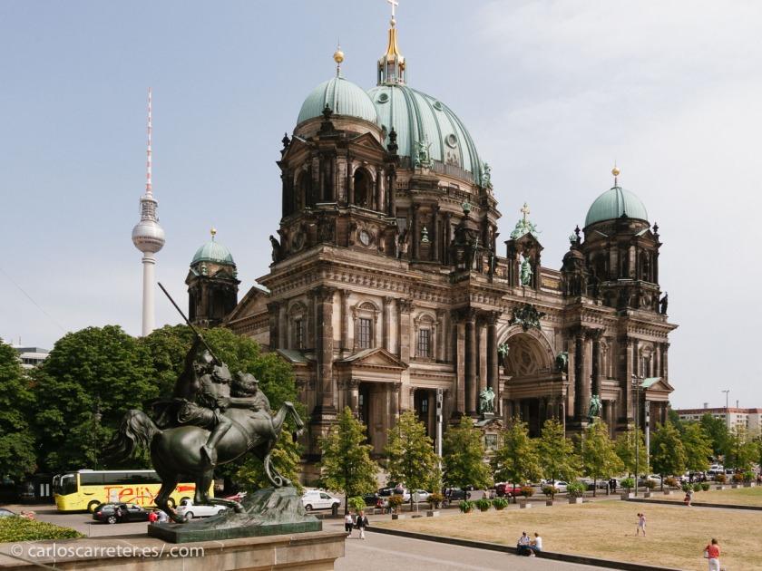 En las calles de la capital alemana ha comenzado la temporada de Homeland, y muy bien, me parece.