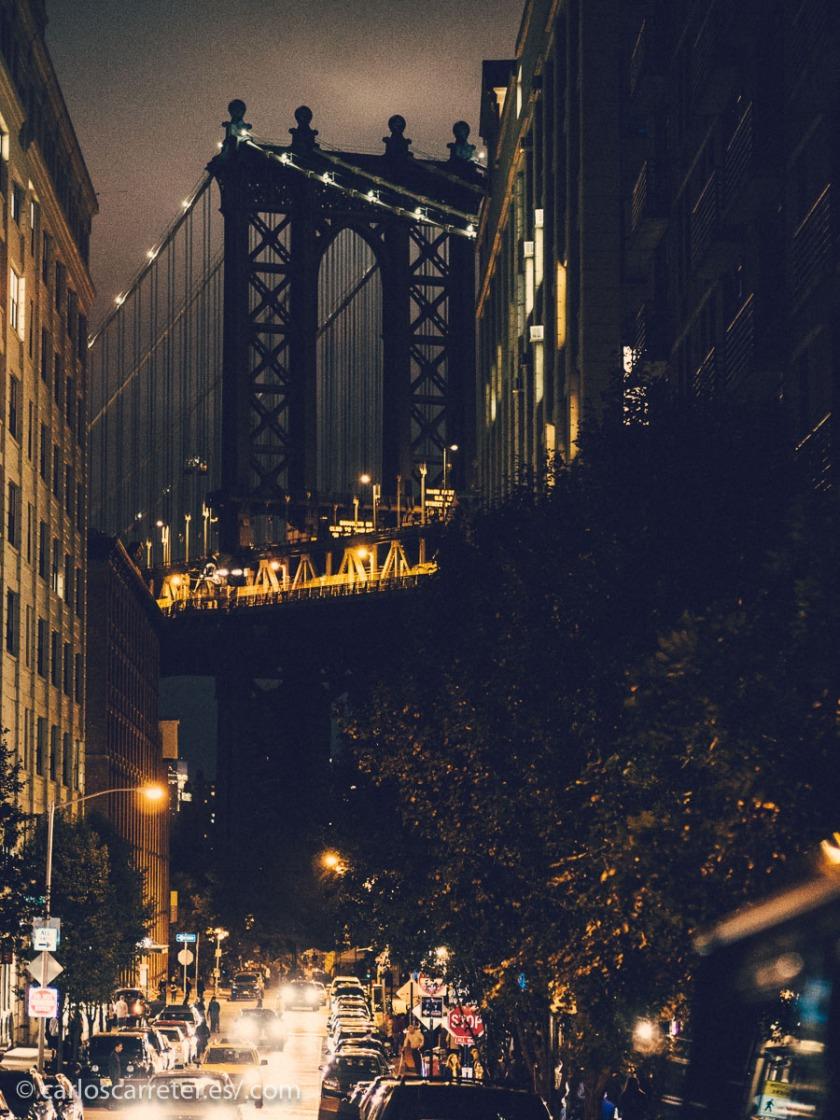 Pero durante mi visita a Nueva York no paseamos por allí, aunque no estuvimos lejos.