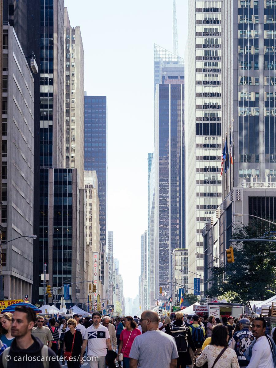 Volvemos hoy a Nueva York; al más urbano y dinámico.
