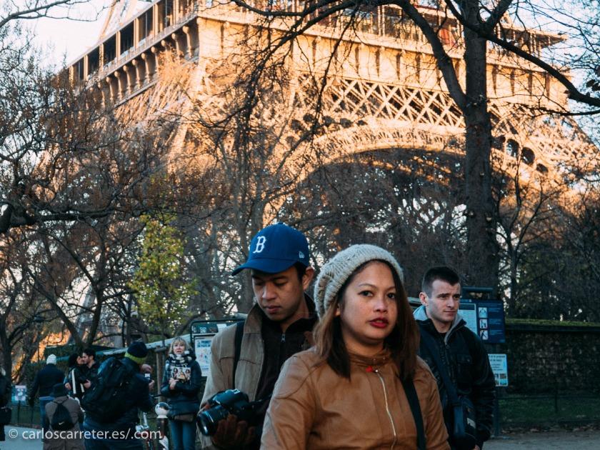 En realidad, traigo aquí las fotos para aprovechar para comentar que estoy avanzando en el cuaderno de viajero de mi viaje a la capital francesa en diciembre del año pasado.
