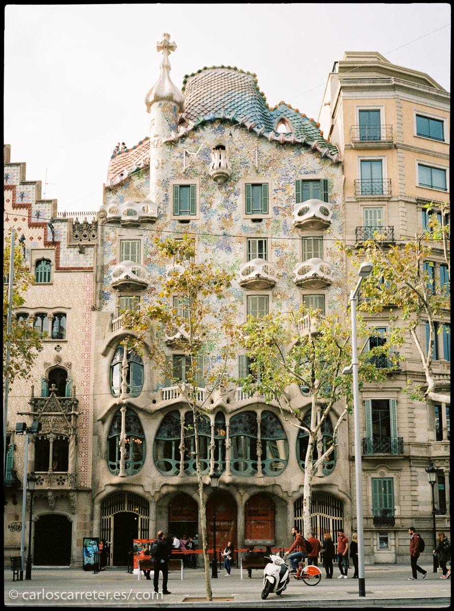 Las fotografías de hoy las traigo de mi estancia en Barcelona hace unas semanas.