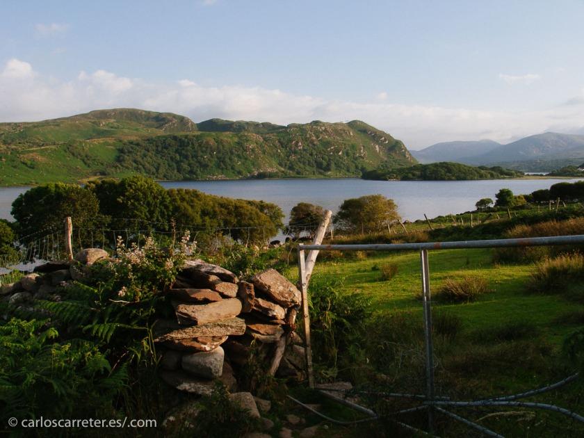 Disfrutando de los bellos paisajes del condado de Kerry que hoy os he traído aquí para vosotros.