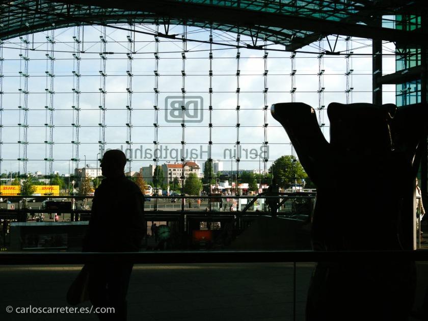 Protagonismo especial para la Hauptbanhof berlinesa (estación central) en Homeland.