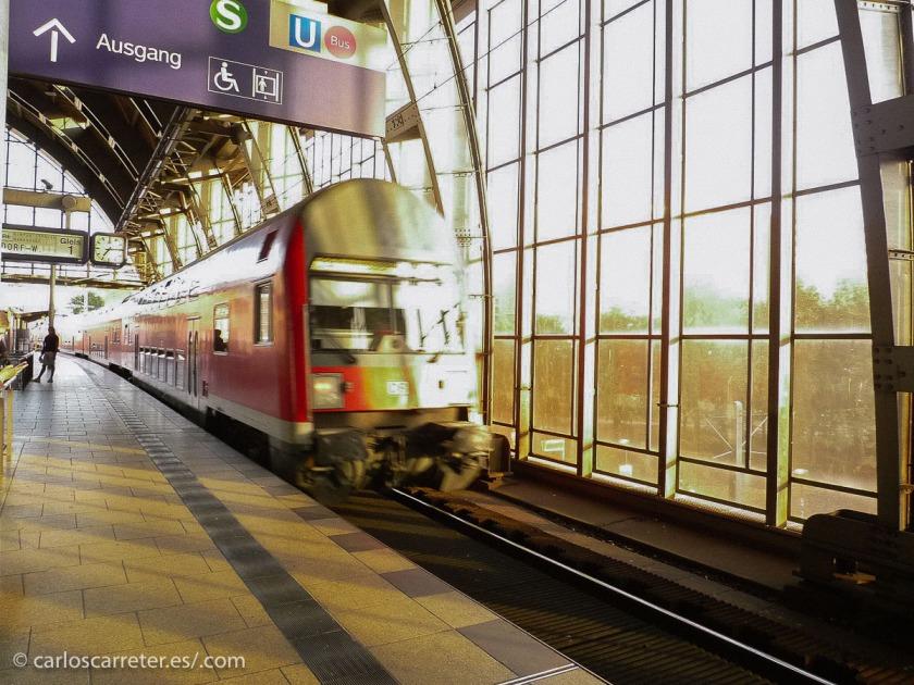 Y en general para los ferrocarriles de todo que atraviesan la capital alemana.