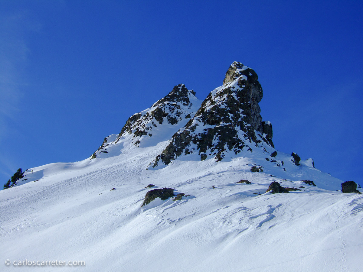 Pero no las nieves árticas, donde no he llegado... nos conformaremos con los Pirineos en invierno.