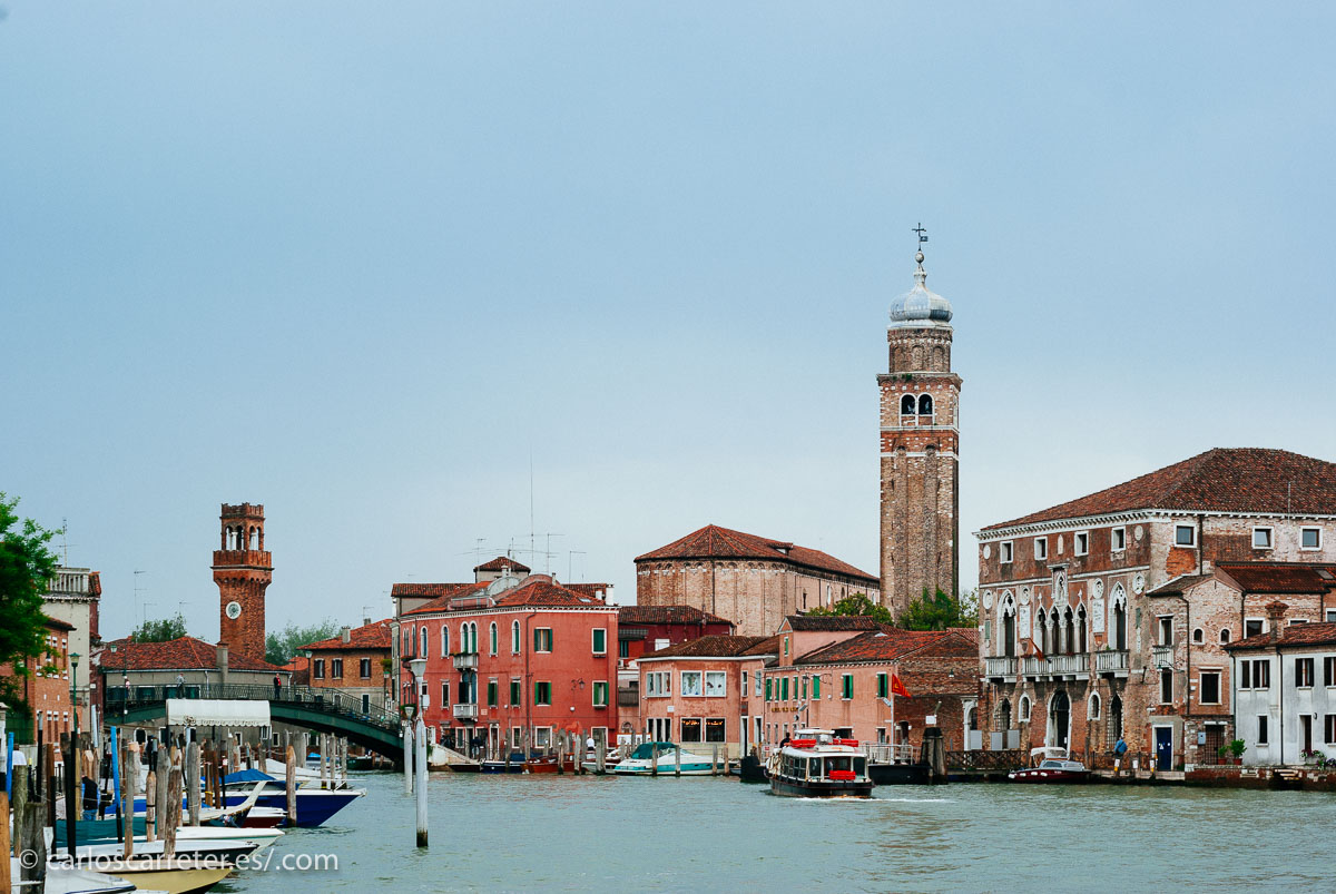 2008, isla de Murano en Venecia, Italia.