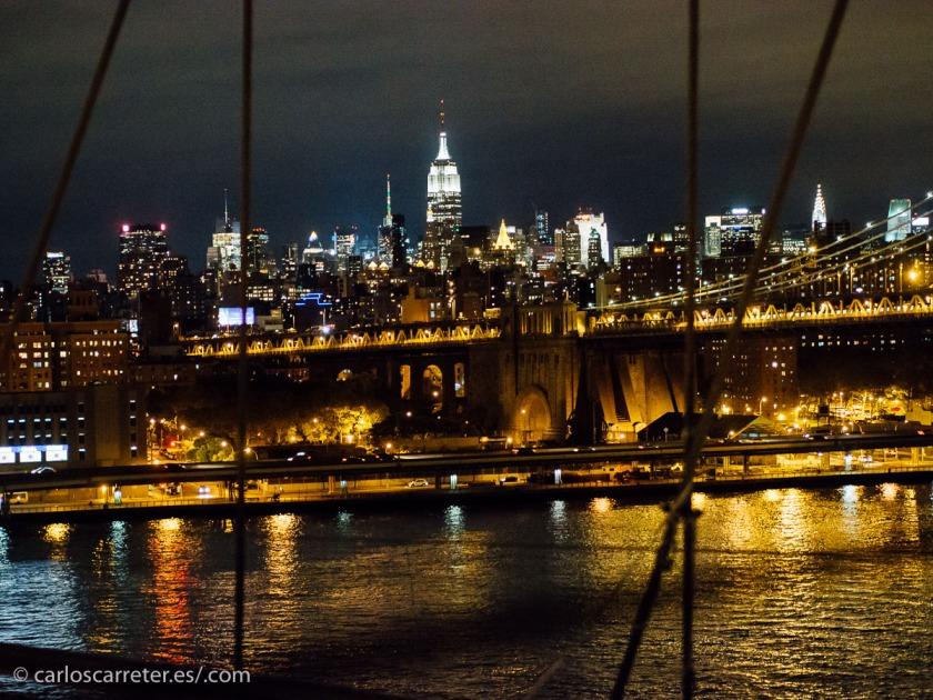 No he estado nunca en Cincinnati, pero la película es muy nocturna... nos iremos a la noche neoyorquina para compensar.