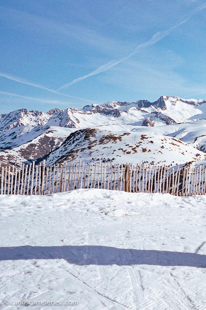 Que cada vez es más difícil encontrar nevados con las temperaturas elevadas en invierno que estamos teniendo.