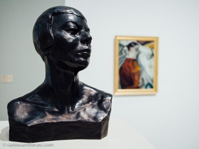 En julio de 2014, durante unas cortas, y acortadas a la fuerza, vacaciones visité el Moderna Museet en Malmo.