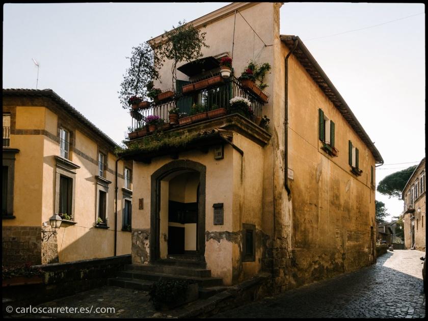 Paseando por el casco viejo de Orvieto, Umbria.